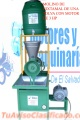 MOLINOS DE 1 TOLVA CON MOTOR ELECTRICO DE 3HP Y DE 2HP, MOTORES Y MAQUINARIA
