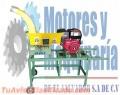 Picadora de pasto PP-600 Marca Penagos con motor diesel