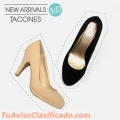 Tacones color beige