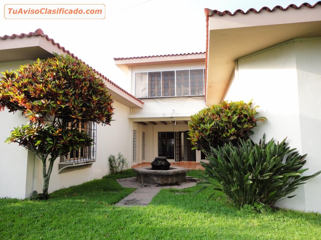 Casa en alquiler altamira san salvador inmuebles y for Casas de renta