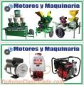 MOTORES Y MAQUINARIA DE EL SALVADOR.  MAQUINARIA PARA EL AGRO Y GANADERIA.
